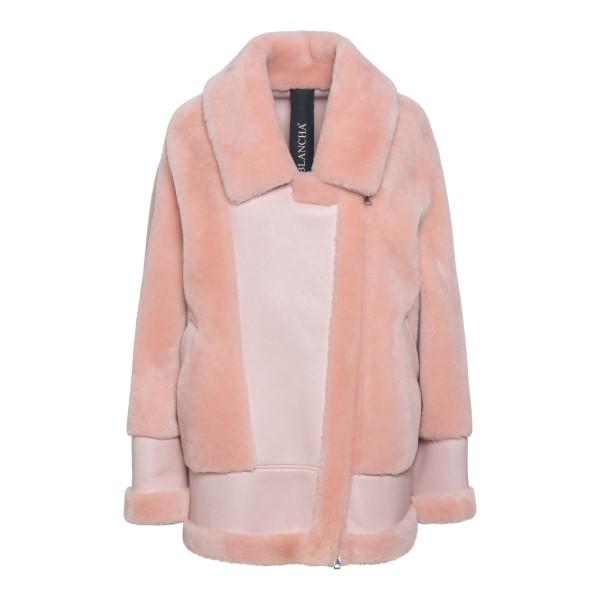 Pink fur jacket                                                                                                                                        BLANCHA