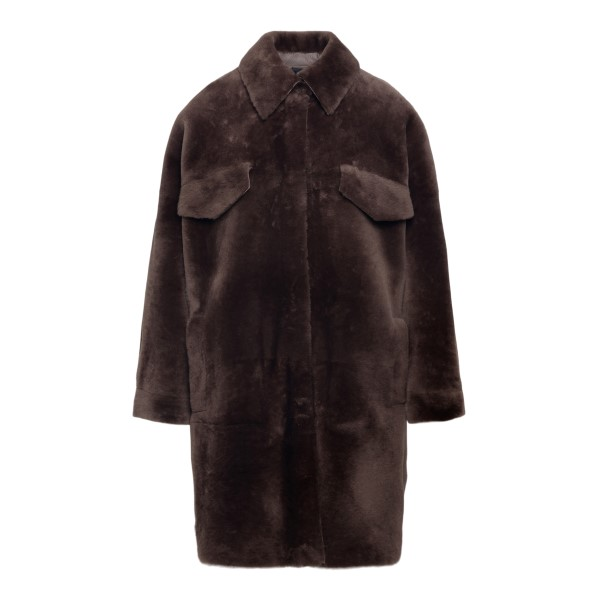 Soft brown coat                                                                                                                                        BLANCHA