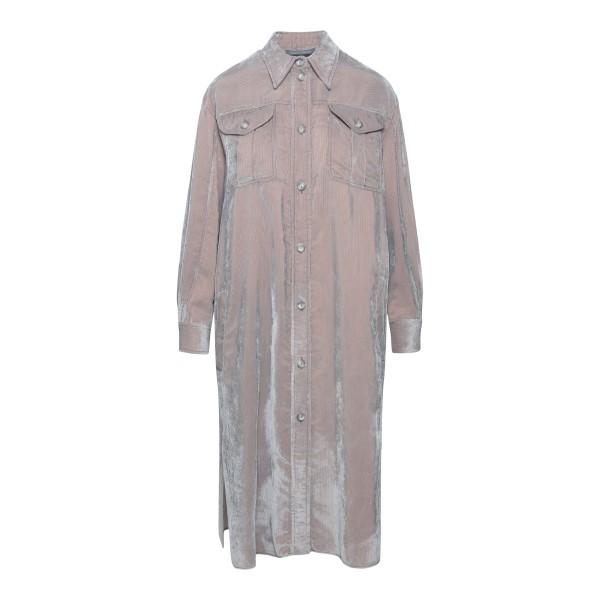 Cappotto a camicia grigio                                                                                                                              ALBERTA FERRETTI                                   ALBERTA FERRETTI