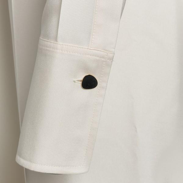 Long white shirt dress                                                                                                                                 VICTORIA BECKHAM