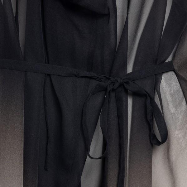 Short dress with gradient effect                                                                                                                       ANN DEMEULEMEESTER
