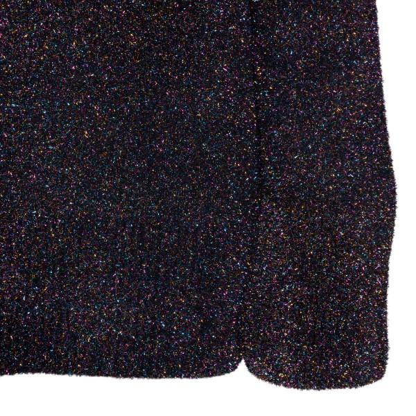 Shiny black short dress                                                                                                                                THE ATTICO