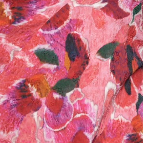 Long pink patterned dress                                                                                                                              ISABEL MARANT