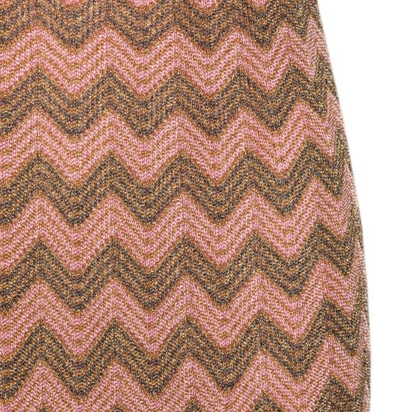 Long sleeveless pink and gold dress                                                                                                                    M MISSONI