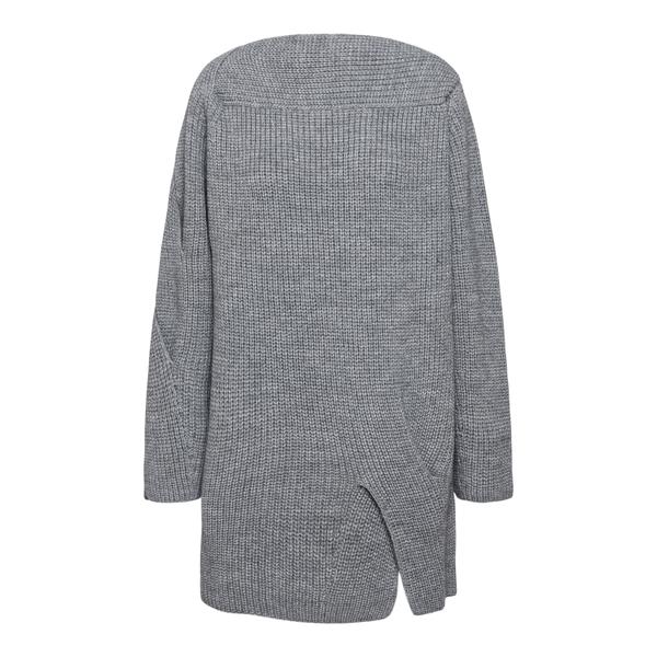 Abito corto in maglia con pieghe                                                                                                                      Msgm 3141MDA111 retro