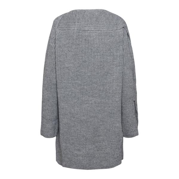 Abito corto in maglia con pieghe                                                                                                                       MSGM                                               MSGM
