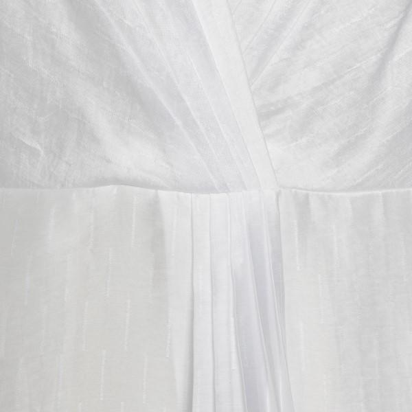 Long light dress in white color                                                                                                                        EMPORIO ARMANI