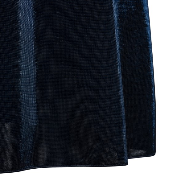 Short dress in blue lurex                                                                                                                              EMPORIO ARMANI