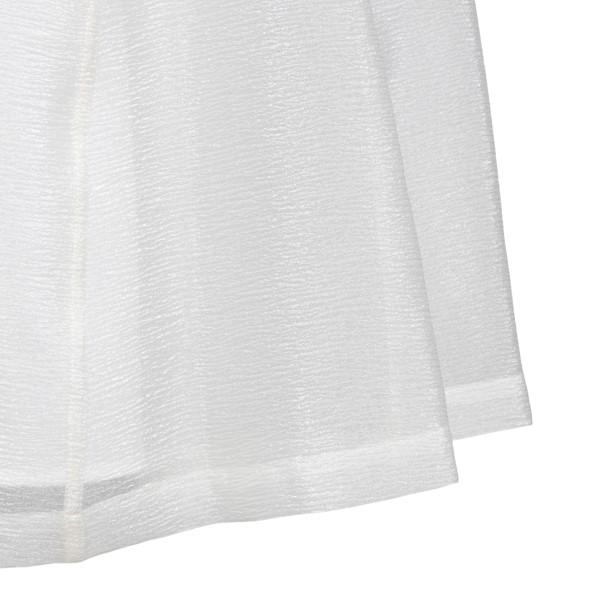 Short white flared dress                                                                                                                               EMPORIO ARMANI