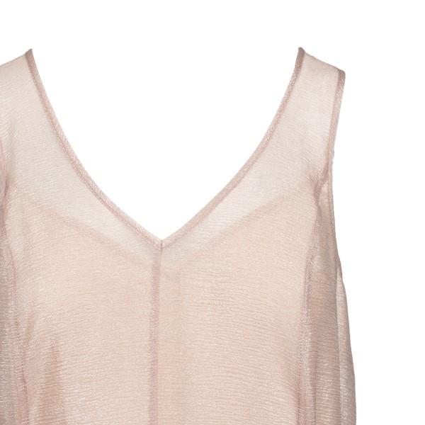Short light pink flared dress                                                                                                                          EMPORIO ARMANI