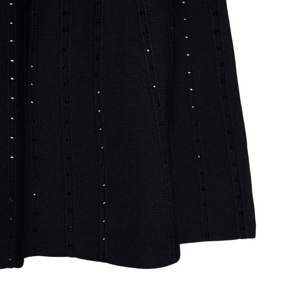 Short black dress with rhinestones                                                                                                                     EMPORIO ARMANI