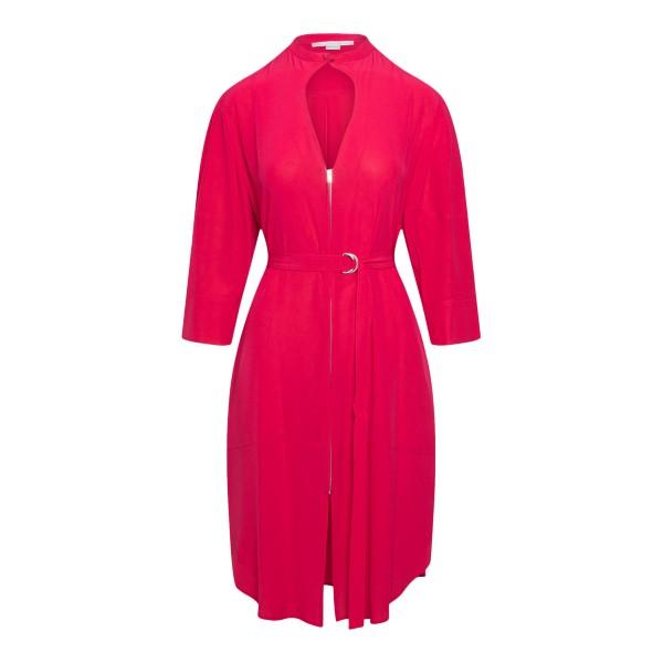 Red midi dress with zip                                                                                                                               Stella Mccartney 603636 back