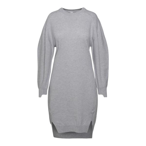 Short grey knitted dress                                                                                                                               STELLA MCCARTNEY