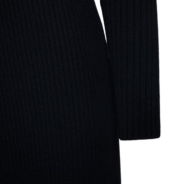 Long black dress with cutouts                                                                                                                          BOTTEGA VENETA