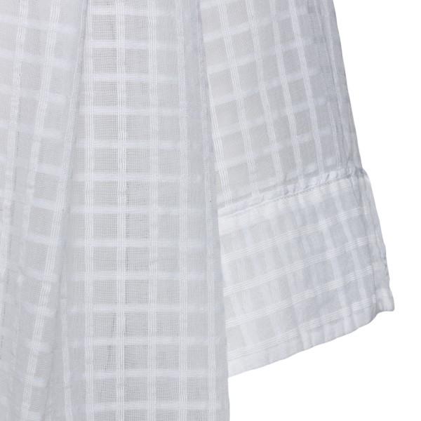 Long white checked kimono                                                                                                                              FORTE FORTE