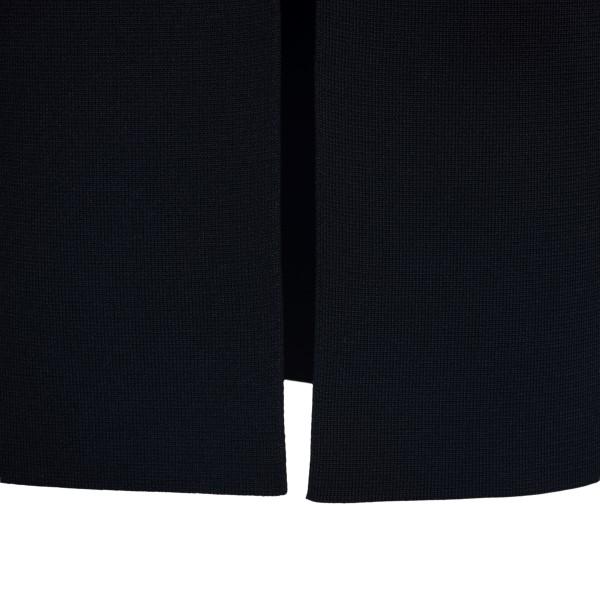 Elegant black midi dress with cut-out details                                                                                                          KHAITE