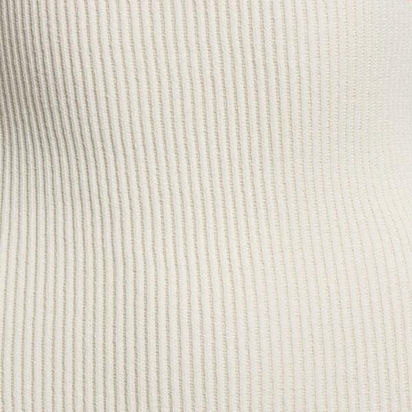 White fitted midi dress                                                                                                                                KHAITE