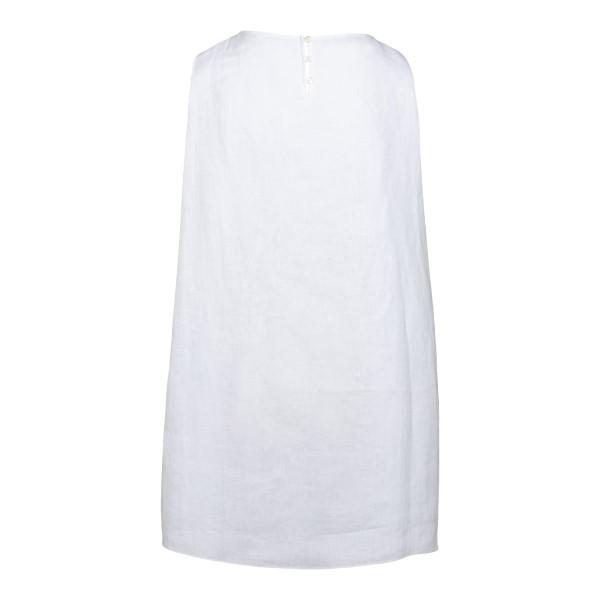 Sleeveless short white dress                                                                                                                           EMPORIO ARMANI