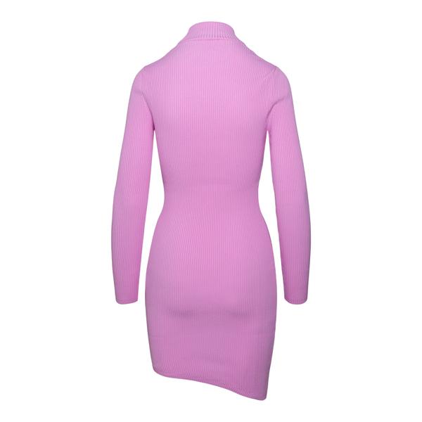 Short pink dress with logo                                                                                                                             GCDS