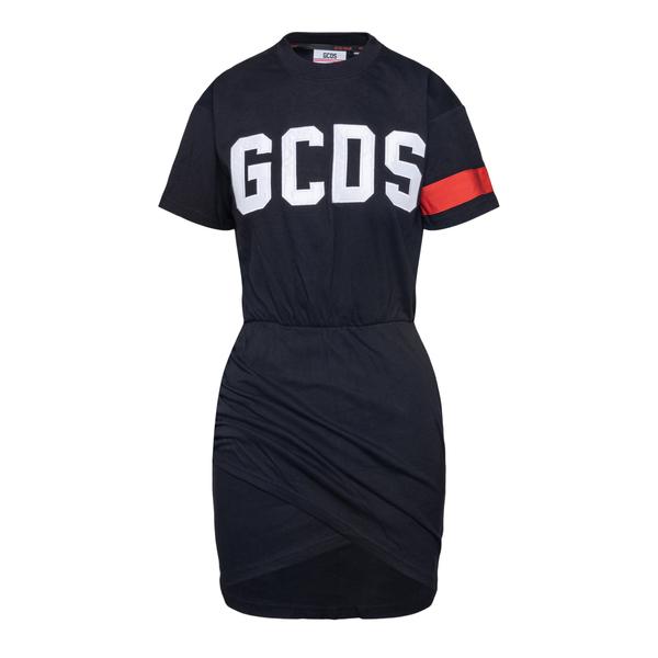 Abito corto nero a T-shirt                                                                                                                             GCDS                                               GCDS