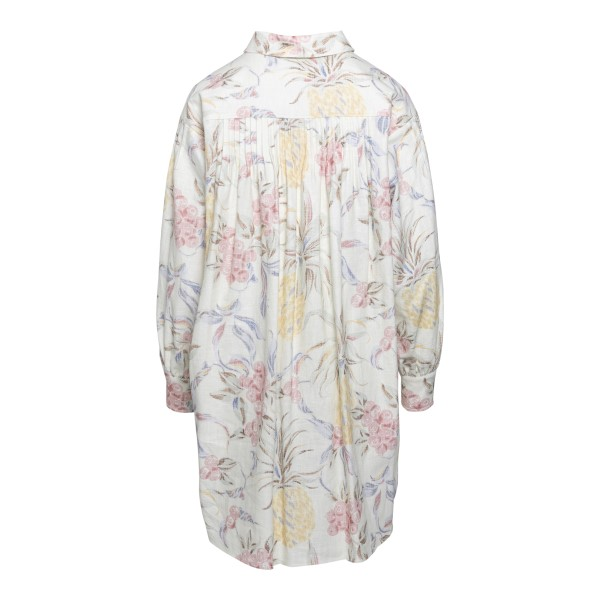 Abito bianco a chemisier con stampa floreale                                                                                                           SEE BY CHLOE                                       SEE BY CHLOE