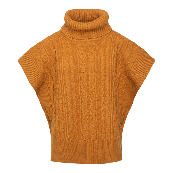 Beige cape sweater                                                                                                                                    See By Chloe CHS21WMM01 back