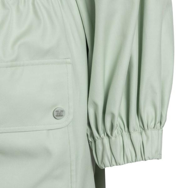 Short faded green dress with pockets                                                                                                                   MAX MARA