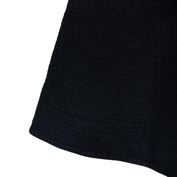 Black flared midi dress                                                                                                                                PATOU