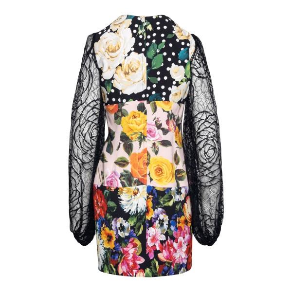 Short floral dress                                                                                                                                     DOLCE&GABBANA