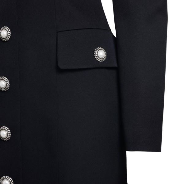 Short black dress in jacket design                                                                                                                     ALESSANDRA RICH