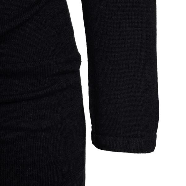 Short dress in gathered design                                                                                                                         VIOLANTE NESSI
