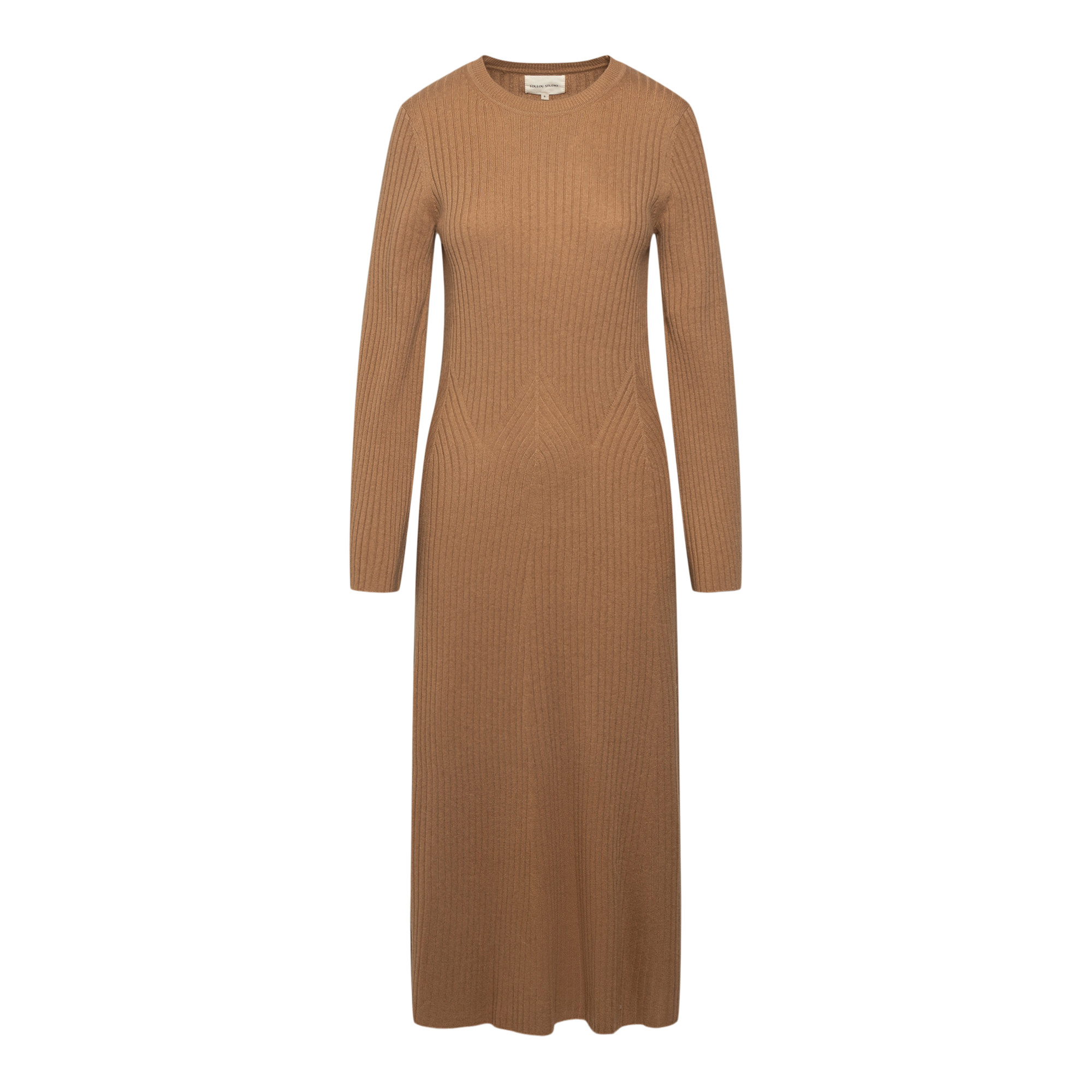 Long knitted dress                                                                                                                                     LOULOU STUDIO