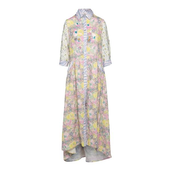 Long shirt dress with pattern                                                                                                                         Anjuna LICIA back