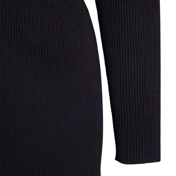 Short black dress with logo detail                                                                                                                     OFF WHITE