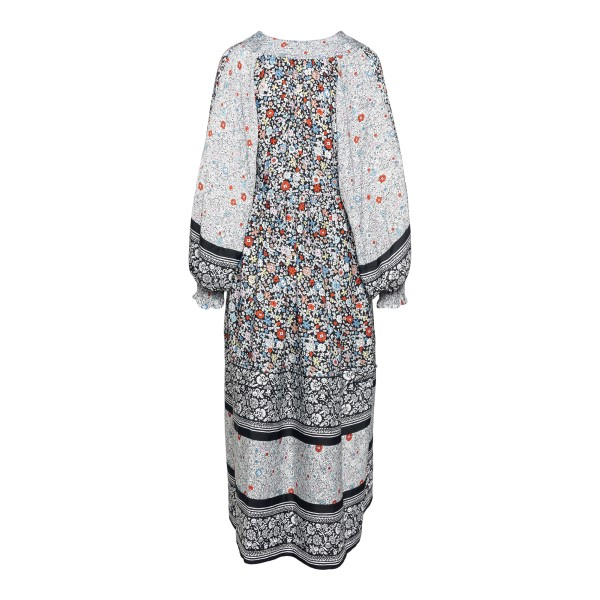 Long multicolored floral dress                                                                                                                         SEE BY CHLOE