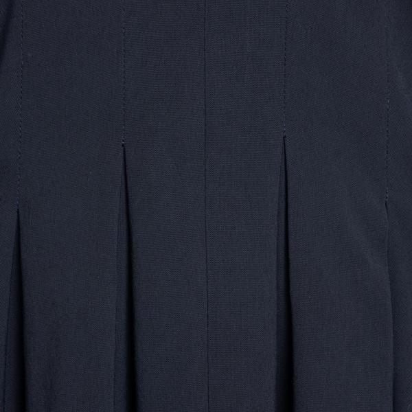 Black midi dress with asymmetrical skirt                                                                                                               LOEWE