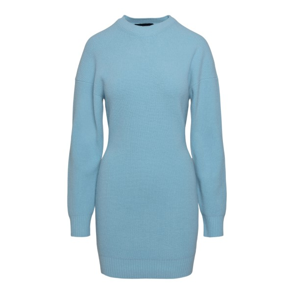 Short blue knitted dress                                                                                                                               DSQUARED2