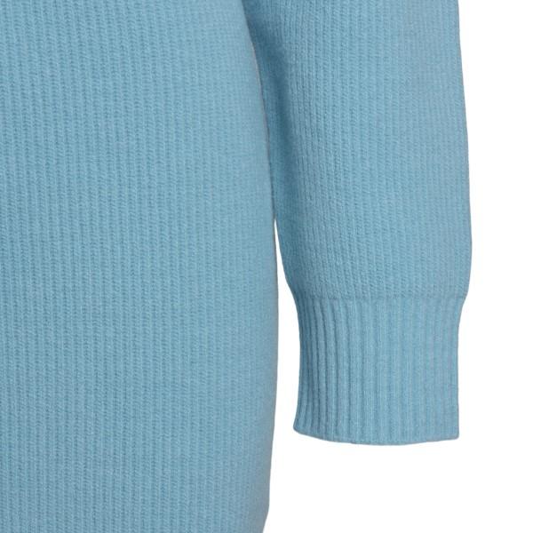 Abito corto azzurro in maglia                                                                                                                          DSQUARED2                                          DSQUARED2