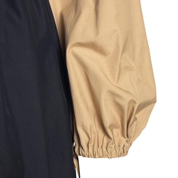 Long dress in color block design                                                                                                                       MAX MARA