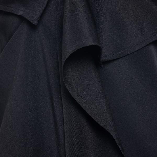 Top nero asimmetrico con spalle scoperte                                                                                                               SPORTMAX SPORTMAX