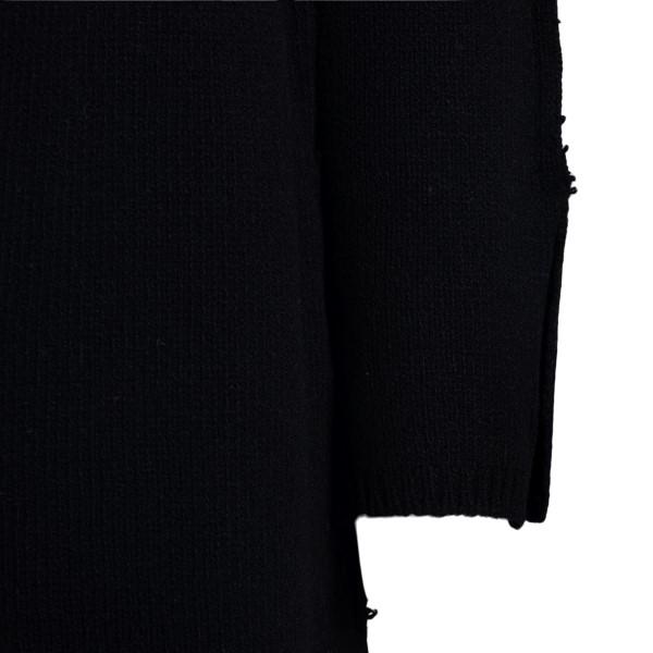 Black dress with boat neckline                                                                                                                         MARNI