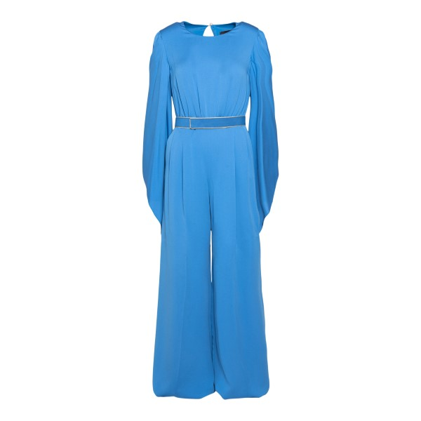 Light blue jumpsuit with wide sleeves                                                                                                                 Max Mara TOBRUK back