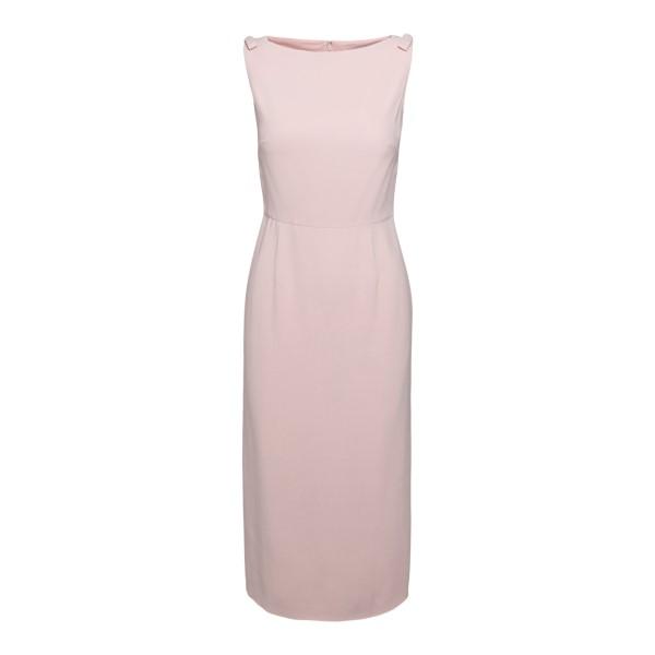 Pink midi dress                                                                                                                                       Valentino VB3VAV97 back