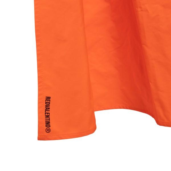 Orange midi dress with asymmetrical hem                                                                                                                RED VALENTINO