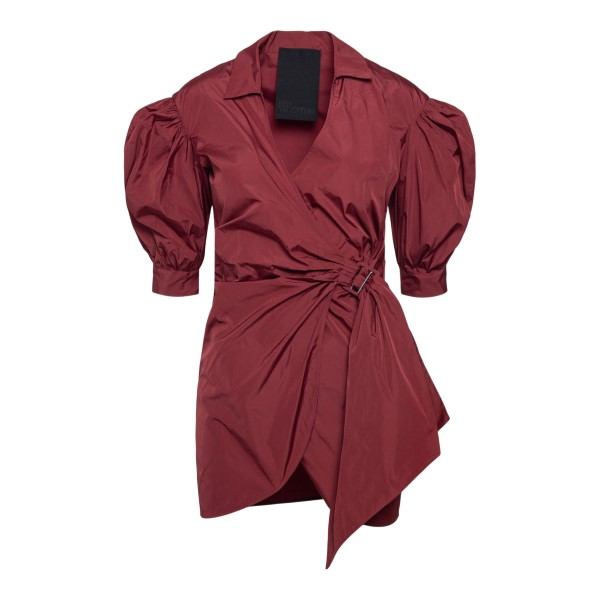Short red wrap dress                                                                                                                                   RED VALENTINO