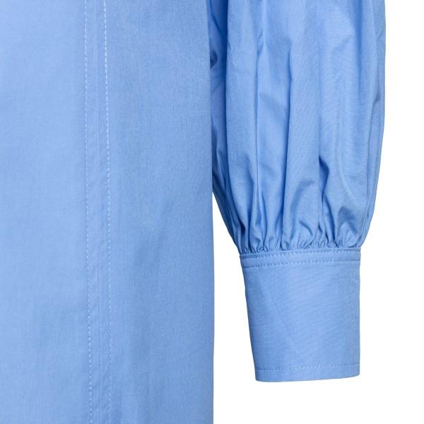 Abito corto a camicia azzurro                                                                                                                          LOULOU STUDIO                                      LOULOU STUDIO