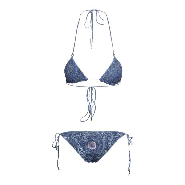 Set bikini blu a fantasia paisley                                                                                                                      ETRO                                               ETRO