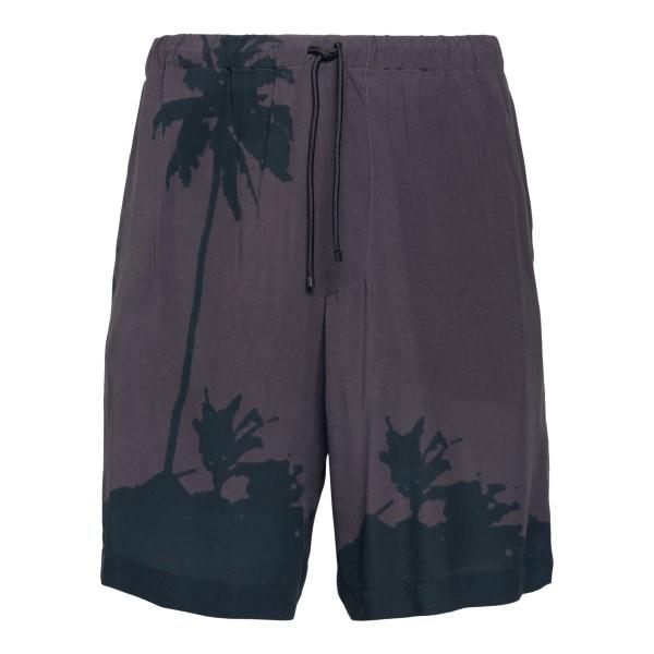 Grey swimsuit with print                                                                                                                               DRIES VAN NOTEN