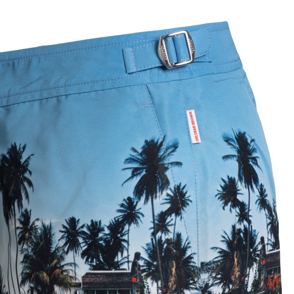 Swimsuit with tropical print                                                                                                                           ORLEBAR BROWN