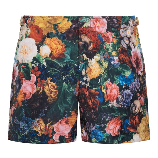 Costume with floral painting                                                                                                                          Orlebar Brown 274187 back